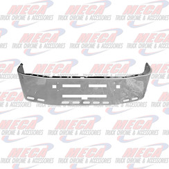 BUMPER KW T600 20'' SS TOW, AIR FLOW, 9 OVAL LT HLS