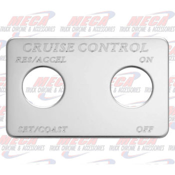 SWITCH PLATE CRUISE CONTROL