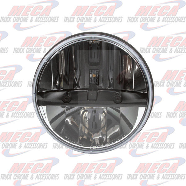 FRONT HEADLIGHT HIGH POWER LED ROUND 7""