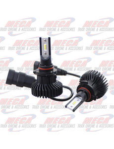FRONT LED HEADLIGHT BULB 9005 HB3 6000 FLUX LUMENS
