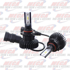 LED HEADLIGHT BULB 9005 HB3 6000 FLUX LUMENS