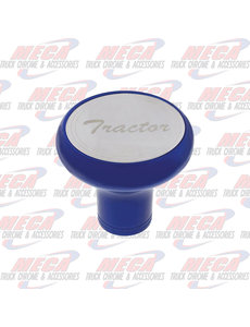 INSIDE BRAKE KNOB TRACTOR INDIGO BLUE W/ S/S PLAQUE