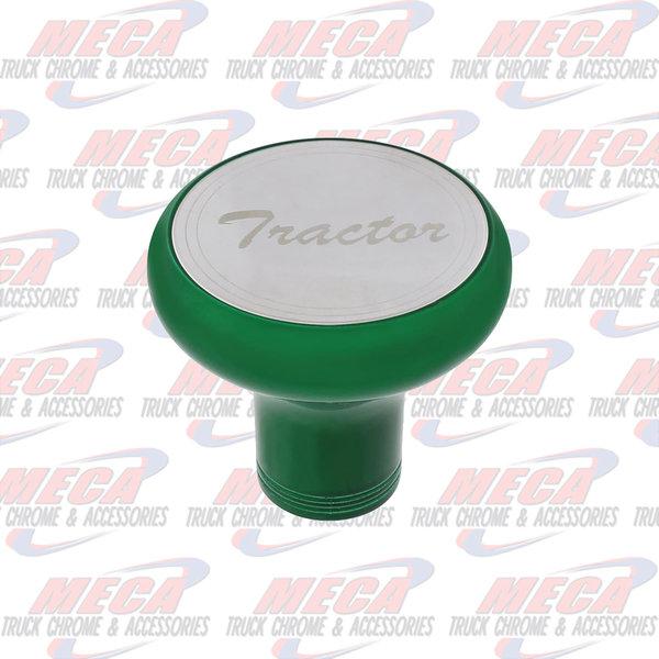 INSIDE BRAKE KNOB TRACTOR EMERALD GREEN W/ S/S PLAQUE