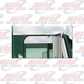 """CHOP TOP FL CLASSIC FLD 5.75"""" CAB MOUNTED MIRRORS"""