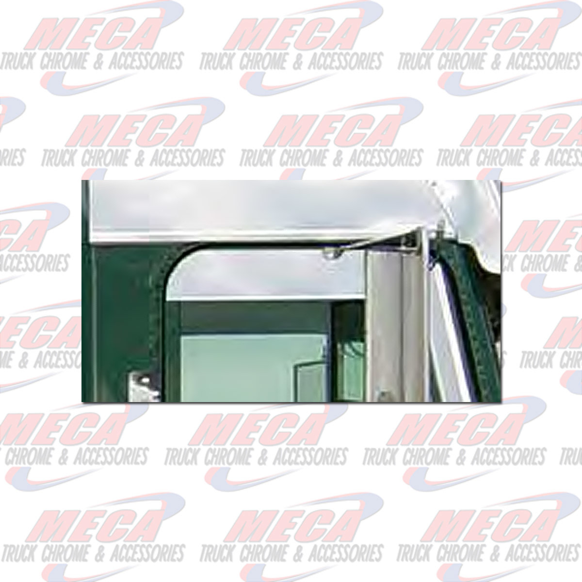 """SIDE CHOP TOP FL CLASSIC FLD 5.75"""" CAB MOUNTED MIRRORS"""