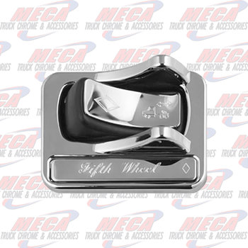 ROCKER SWITCH COVER SS PB 06+ FOR FIFTH WHEEL
