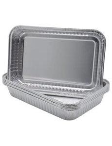 ALUMINUM PANS 6X9 6 PACK FOR ROASTER OVEN 12V PORTABLE #OCV1022