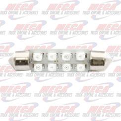 LED DOME LIGHT 211-2 BULB WHITE 2 PACK 8 LED'S