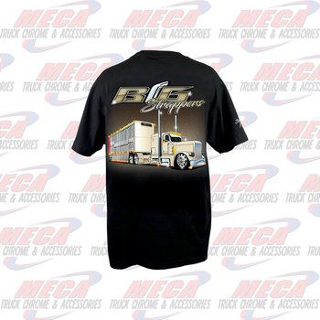 DYNAFLEX T-SHIRT BIG STRAPPERS, MILLER TIME, SMALL