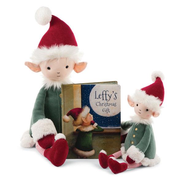 JELLYCAT LEFFY'S CHRISTMAS GIFT