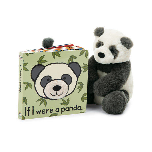 JELLYCAT IF I WERE A PANDA