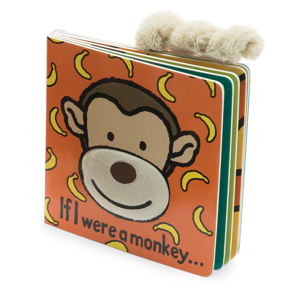 JELLYCAT IF I WERE A MONKEY