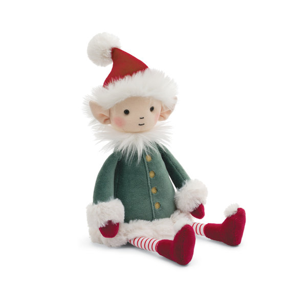 JELLYCAT JELLYCAT ELF LEFFY, MEDIUM