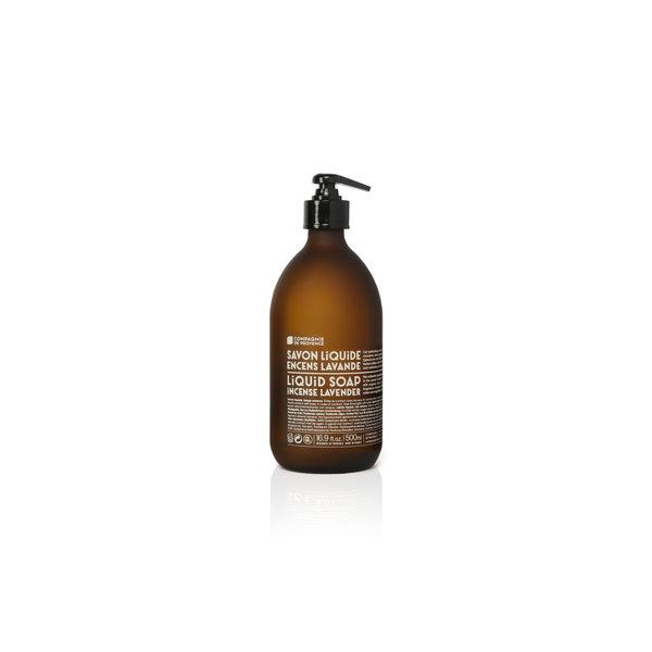 COMPAGNIE DE PROVENCE COMPAGNIE DE PROVENCE - LIQUID MARSIELLE SOAP INCENSE LAVENDER 16.9 FL OZ GLASS BOTTLE