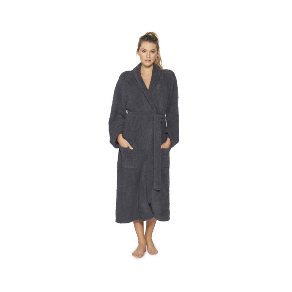 BAREFOOT DREAMS COZYCHIC ROBE SLATE BLUE