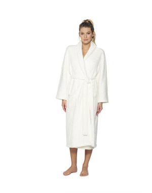 BAREFOOT DREAMS COZYCHIC UNISEX ROBE - PEARL