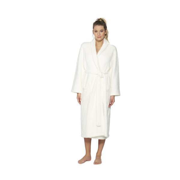 BAREFOOT DREAMS COZYCHIC ROBE PEARL