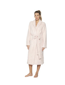BAREFOOT DREAMS COZYCHIC UNISEX ROBE - HEATHERED ROSE