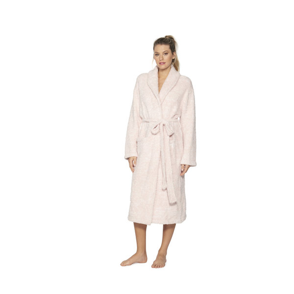 BAREFOOT DREAMS COZYCHIC ROBE HEATHERED ROSE