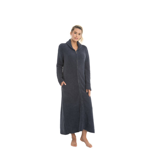 BAREFOOT DREAMS COZYCHIC ROBE FULL-ZIP