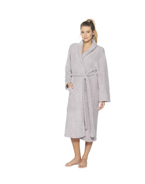 BAREFOOT DREAMS COZYCHIC UNISEX ROBE - DOVE GRAY