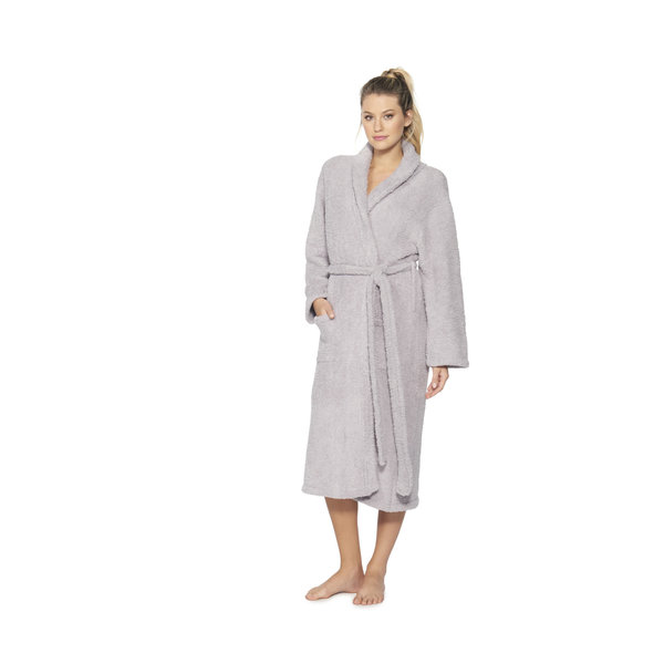 BAREFOOT DREAMS COZYCHIC ROBE DOVE GRAY