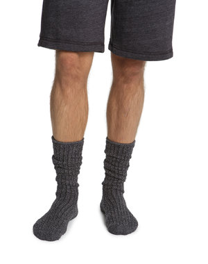 BAREFOOT DREAMS COZYCHIC MEN'S RIBBED SOCKS