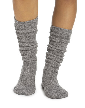 BAREFOOT DREAMS COZYCHIC WOMEN'S HEATHERED RIBBED SOCKS