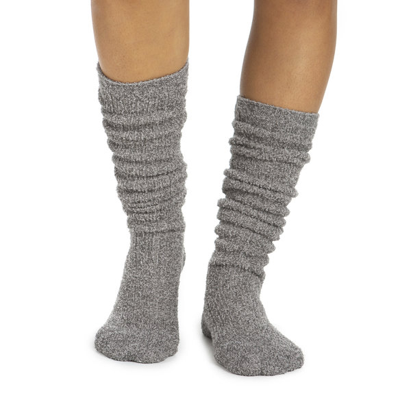 BAREFOOT DREAMS COZYCHIC WOMEN'S RIBBED SOCKS - HEATHERED