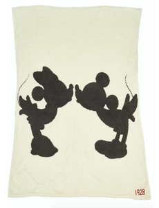 BAREFOOT DREAMS COZYCHIC CLASSIC DISNEY MICKEY & MINNIE THROW
