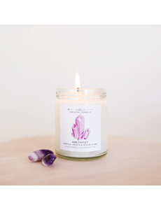 JAXKELLY JAXKELLY CRYSTAL CANDLE 9 OZ