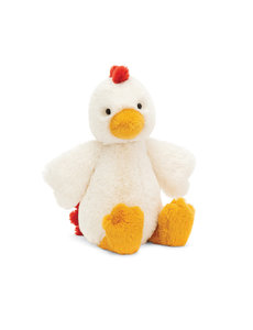 JELLYCAT JELLYCAT BASHFUL CHICKEN, MEDIUM