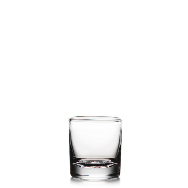 SIMON PEARCE ASCUTNEY DOUBLE OLD FASHIONED GLASS 10 OZ