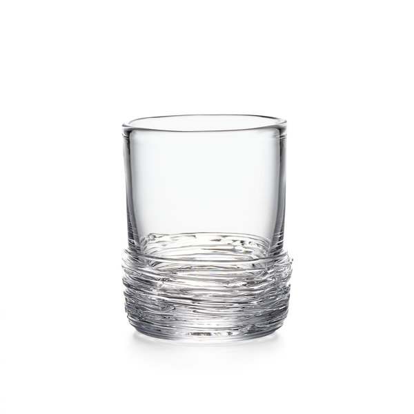 SIMON PEARCE ECHO LAKE WHISKEY GLASS, 8 OZ