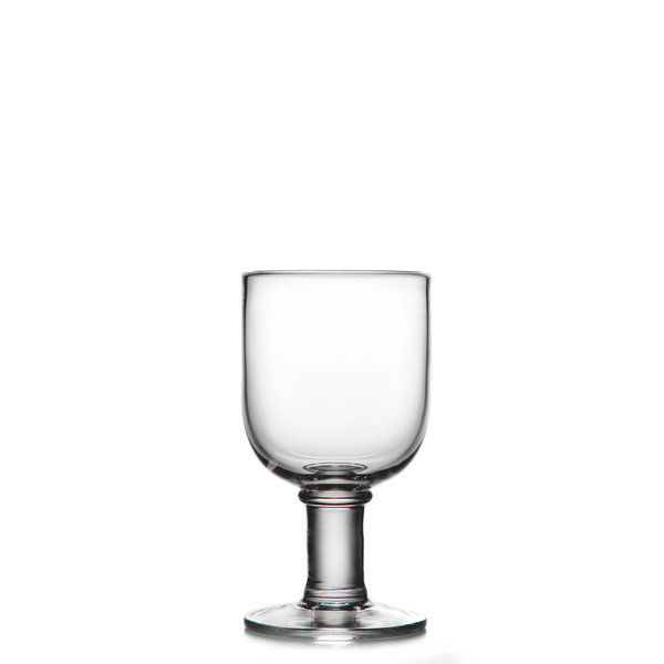 SIMON PEARCE ESSEX WINE GOBLET 12 OZ