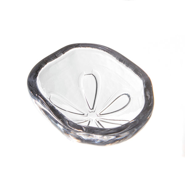 SIMON PEARCE SAND DOLLAR BOWL IN GIFT BOX