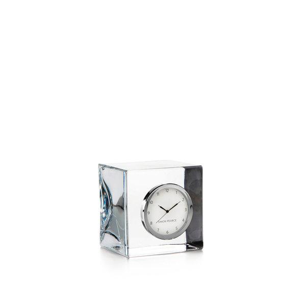 SIMON PEARCE WOODBURY CLOCK CUBE