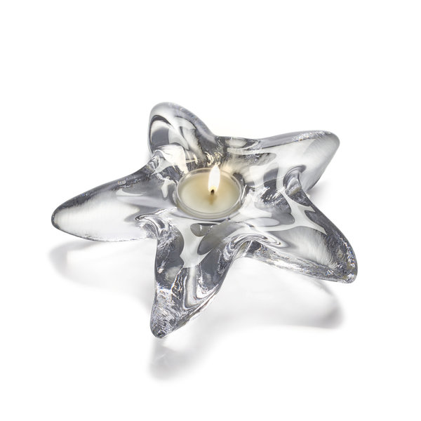 SIMON PEARCE STARFISH TEALIGHT CANDLE