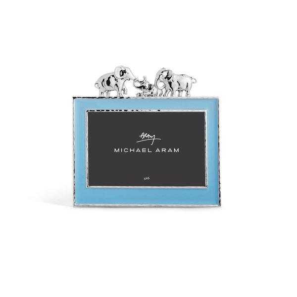 MICHAEL ARAM ELEPHANT FRAME BLUE 4X6