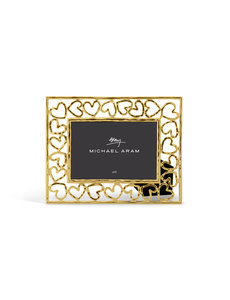 MICHAEL ARAM HEART FRAME GOLD 4X6