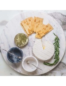 CARAVAN HOME MARBLE ROUND CHEESE BOARD