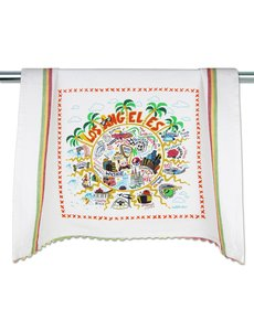 CATSTUDIO LOS ANGELES DISH TOWEL