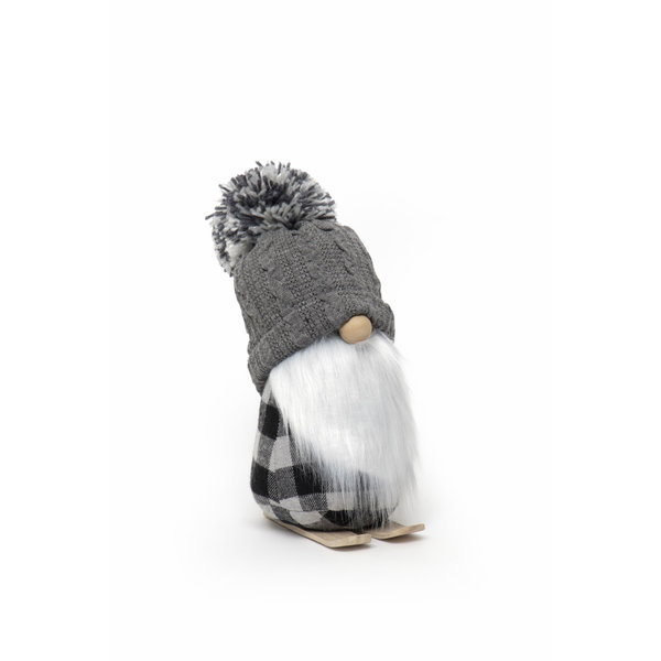 "MERAVIC GNOME 12"" SKIS POM HAT"