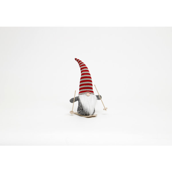 "MERAVIC GNOME 13.5"" RED STRIPE HAT"