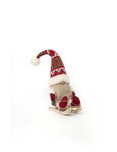 MERAVIC GNOME ON SLED