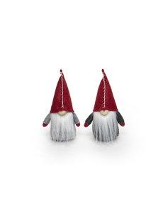 "MERAVIC 6"" GNOME STITCH RED HAT ORNAMENT"