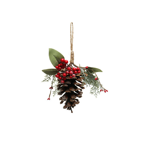 MERAVIC PINE CONE DROP ORNAMENT