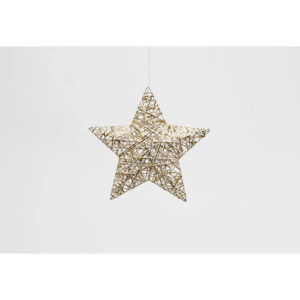 "MERAVIC STAR PUFFY 10"" GOLD"