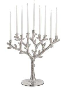 MICHAEL ARAM TREE OF LIFE MENORAH - SILVER