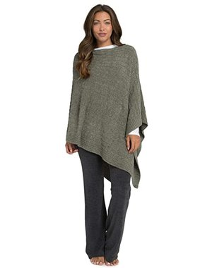 BAREFOOT DREAMS COZYCHIC LITE CABLE PONCHO